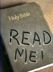 If your bible looks like this, it might be time to open it up and give it a try!