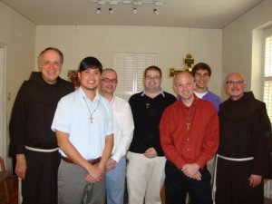 Two years ago I started my journey as a Franciscan. Tomorrow, eight more men will do the same.