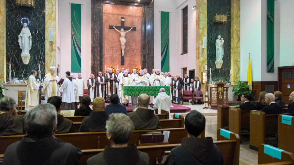 Ordinations are elaborate services that include a lot of people