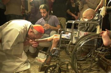 """Like the pope, we will probably never """"really"""" be poor. That doesn't mean we shouldn't get our hands dirty and try."""