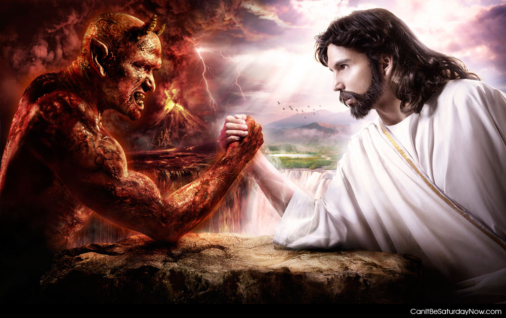What The Devil Breaking In The Habit
