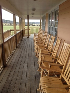 There's just something so comfortable about a rocking chair on the porch!