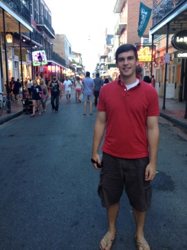Bourbon Street was fun for sure, just not my type of fun!