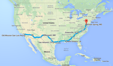 Two friars, 3123 miles, 7 friaries, 5 Franciscan provinces, and 0 idea how it's going to work!