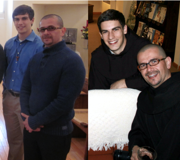Edgardo and I lived together during postulancy and novitiate before he moved to California for studies