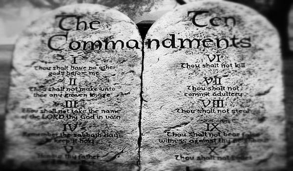 The Problem With Ten Commandments